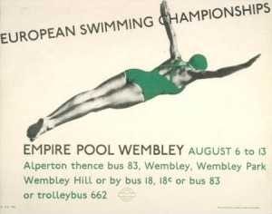 swimming poster