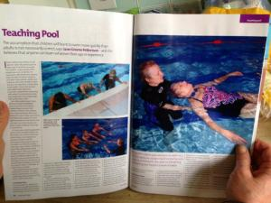 swimming times article